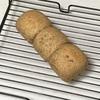 豆乳パン失敗、野菜オムレツとレタススープとパプリカ炒め