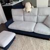 初めて買ったソファー  そして重大発表