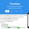 Ruby on Railsを使ったOSSを読む(thredded)
