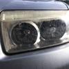車のヘッドライトが暗くなったので、ブルーマジックで磨いてみたら光量アップしたよ。