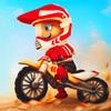 スマホ傾けて遊べるレーシングゲーム 『 バイクレース:真のレーサー』