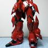 RG MSN-06S シナンジュ 1/144(3) 制作〜腰部〜