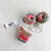 Opal毛糸で編む つま先のない靴下(1) 編み始め