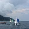 大島海洋国際高校、大島一周チャレンジ!!