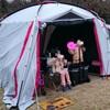 雨の初キャンプ-1日目-