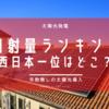 【太陽光】西日本で太陽光が向いている県はどこ?NEDOアプリを使って調べてみました。