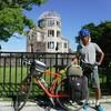 宮島から岩国へ 35キロ