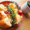 ホテル食パン丸ごとサンドイッチ!チェダーチーズとたまごの豪快サンドイッチレシピ