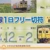 湊線1日フリー切符