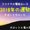 【ココナラ電話占い】3,000円分割引クーポンが届いたから、2018年の運勢を占ってもらった!