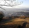 奈良の大文字山