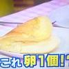 【あのニュースで得する人損する人】卵1個で超ふわふわオムレツの作り方