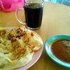 ロティチャナイで朝食を済ます