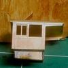 米国型モーガルを作る(95)8550の雨樋と屋根の取り付け