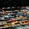 バンコクの夜景スポット「ラチャダー鉄道市場」