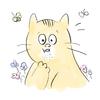 猫のアゴニキビとかいうのを初めて知った