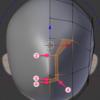 顔のモデリングの超詳細手順 その1 顔のベース形状を作る!:Blender