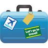 空港へ手ぶらで移動する、クレジットカードの国際線手荷物宅配サービス