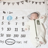 【育児】はじめての月齢フォト【生後2ヶ月】