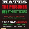 oi-SKALL MATES ☆ THE PRISONER ☆ 柳家睦&THE RAT BONES @ 新代田FEVER