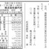 株式会社喜代村 第34期決算公告 / 減少公告