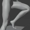 【初心者向け】Blender キャラクターのアニメーション作成方法 その4【足・脚のIK設定】
