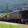 EF64 37牽引川中島工臨(レール輸送)運転