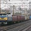 1月8日撮影 東海道線 平塚~大磯間 貨物列車 ゼロロク27号機の5095ㇾ その他2本