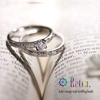 西洋唐草の指輪「Retro./レトロ」。(高松 人気 婚約指輪 結婚指輪)