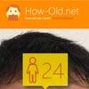 今日の顔年齢測定 481日目