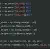 OpenCVの使い方8 ~ 台形補正