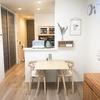 【購入品】MOEBE(ムーべ)ポスターフレーム&無印 壁に付けられる家具