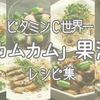 ビタミンC世界一「カムカム」果汁を使ったさっぱりレシピ集!