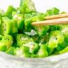 オクラのネバネバ健康サラダレシピとオクラに関する豆知識のまとめ