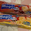 輸入菓子:アンブリック(バニラ・ココア)/クリームオーココア/マジックツインクラッカー(チョコ・バター)