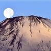 「パール」富士、山頂に真珠の輝き…御殿場