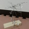 飛行人間の作り方 簡単ワイヤーオートマタ工作