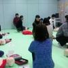 高等部の救急救護体験
