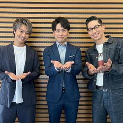 三代目JSB・山下健二郎、TAKAHIRO、AKIRAとイケメンすぎるスリーショット公開!