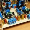 A級バランスHPアンプ製作(製作編12)