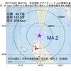 2017年10月01日 08時47分 宗谷海峡でM4.2の地震