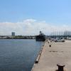 汐見埠頭 砂上げ場