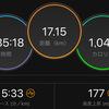 ジョギング17.15km・いびがわ後の復帰ラン&月例マラソンについて