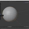 Blender2.8でオブジェクトの一部のみスムーズシェードとフラットシェードを切り替える