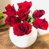 お花を飾って、生活に彩りを