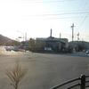 京都市バス終点の風景「岩倉操車場前」