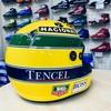 偉大なレーサーのレプリカヘルメットが、特別な日に完成して来ました