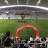 ユニクロ サッカーキッズ 神戸ノエビアスタジアム に行ってきました!