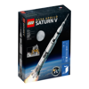レゴ(LEGO)アイデア史上最大! 「NASA Apollo Saturn V(21309)」が公開されています。