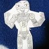 新たに紙人形を製作。